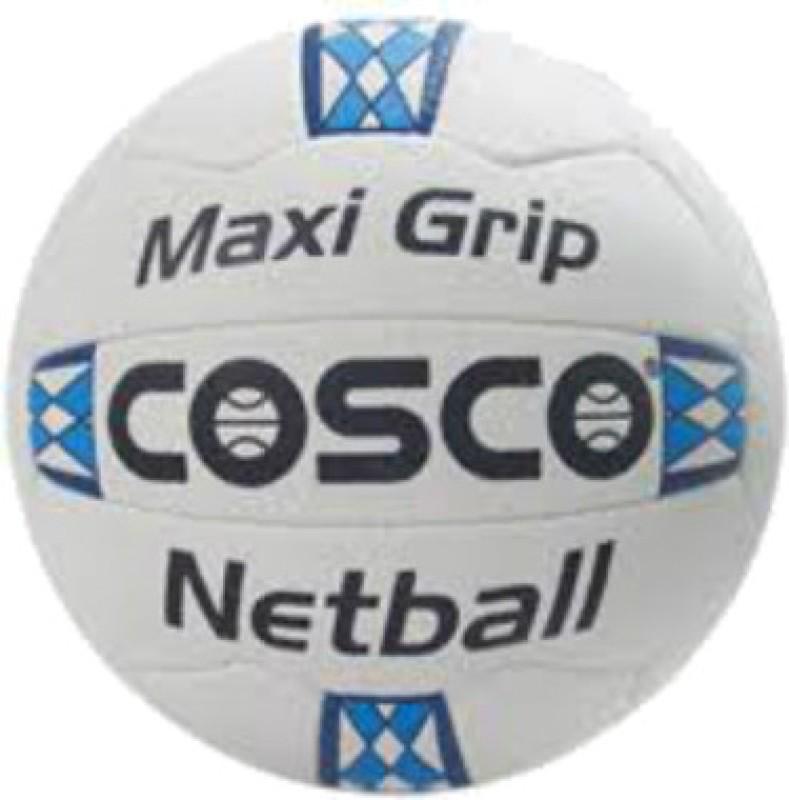 Cosco Maxi Grip Netball - Size: 5(White)