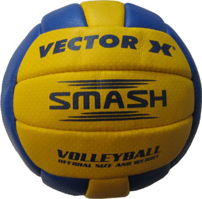 Vector X Smash Volleyball - Size: 4(Yellow, Blue)