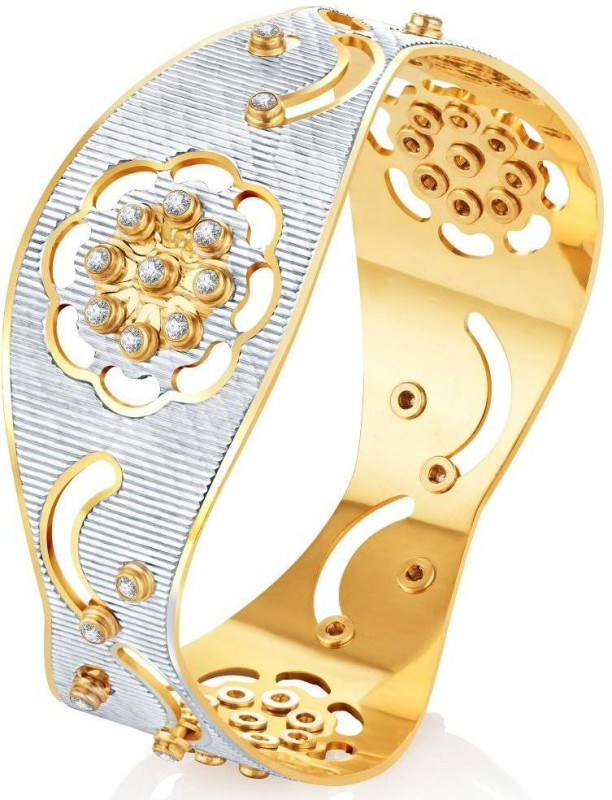 Sukkhi Alloy Gold-plated, Rhodium Bangle