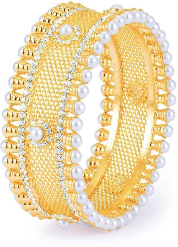 Sukkhi Alloy Gold-plated Bangle
