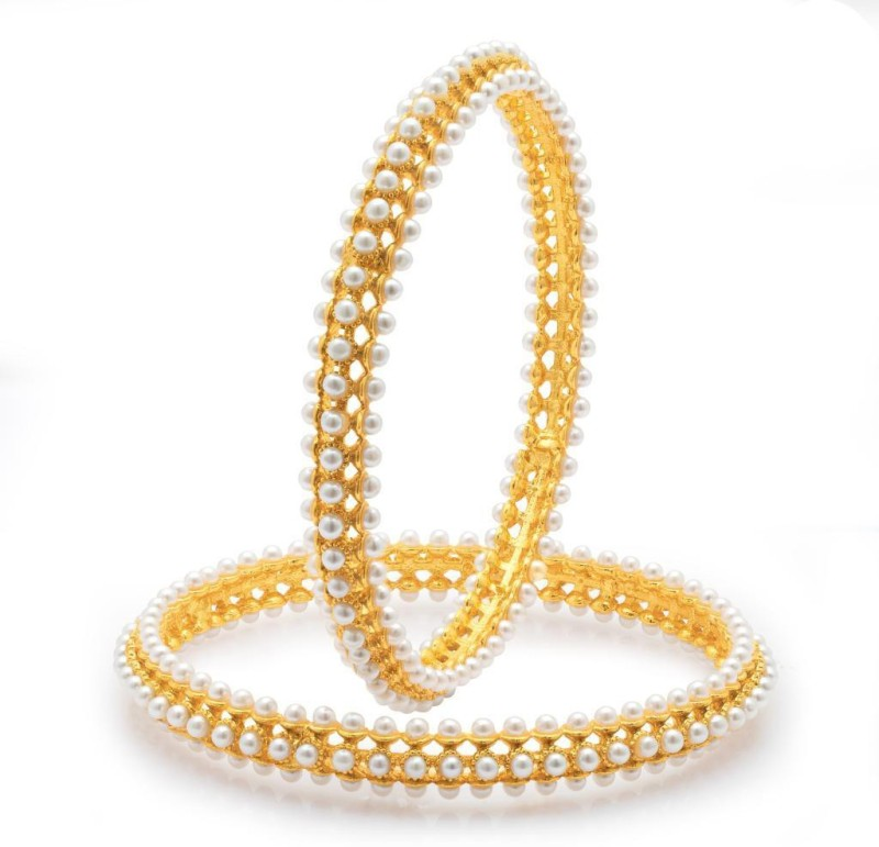 Sukkhi Alloy Gold-plated Bangle Set(Pack of 2)