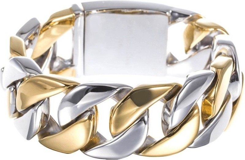 Anvi Jewellers Brass Rhodium Bracelet