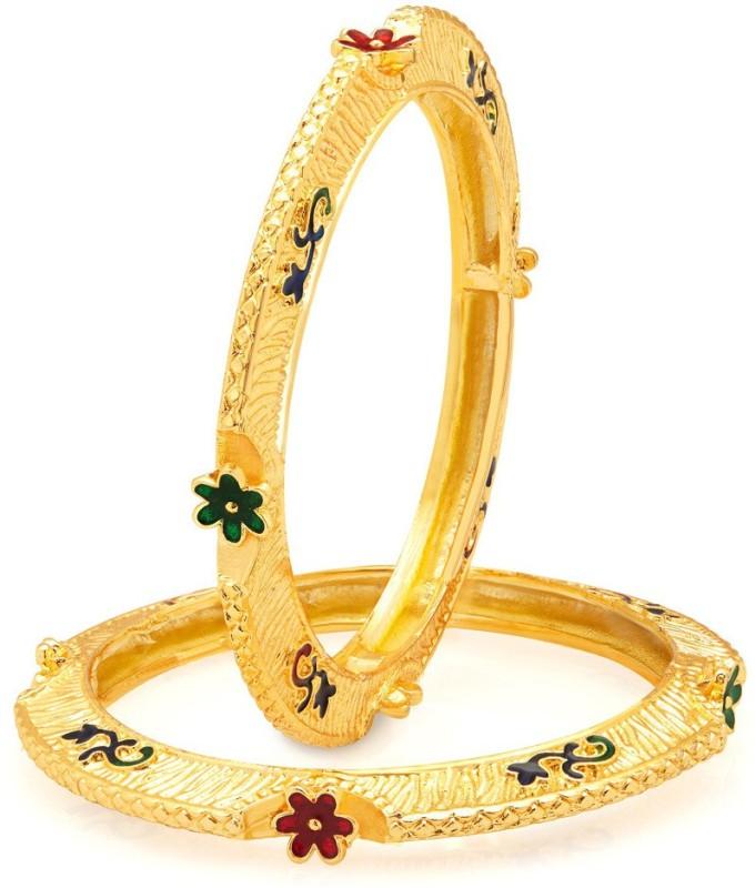 Sukkhi Alloy Gold-plated Bangle Set(Pack of 2)