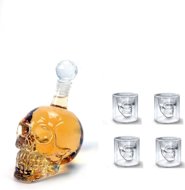PackNBuy 5 - Piece Bar Set(Glass)