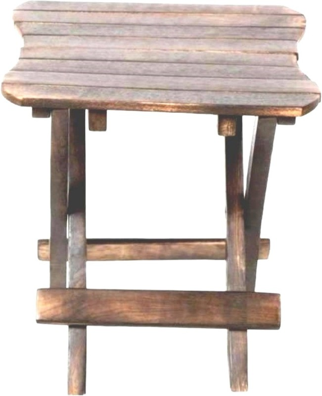 Wooden Art & Toys brow Solid Wood Bar Stool(Finish Color - brown)