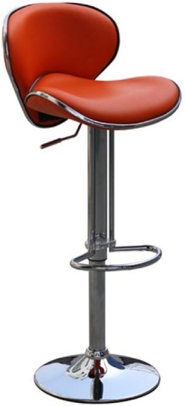 Exclusive Furniture Metal Bar Stool(Finish Color - Orange)