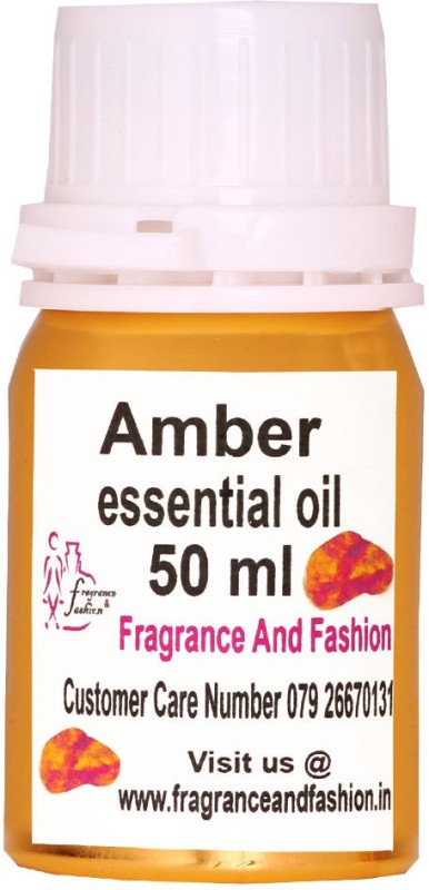 Fragrance and Fashion Amber Essential Oil of 50 ml(50 ml)