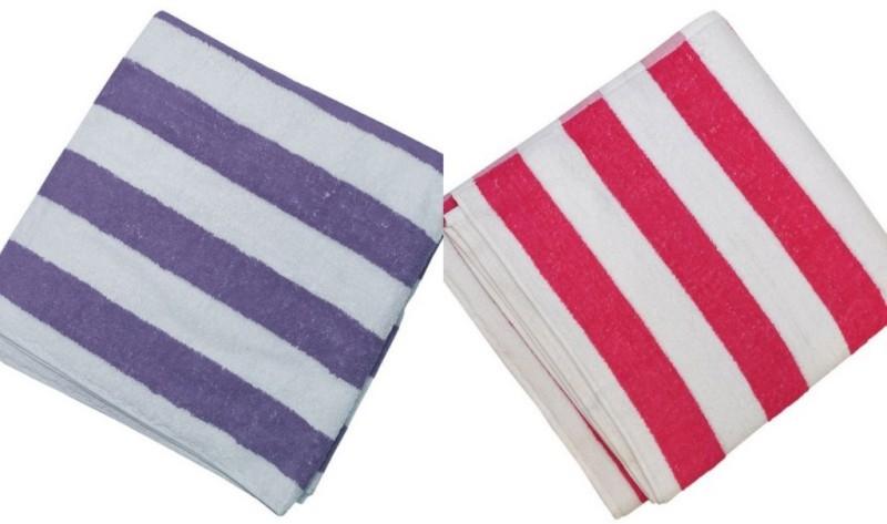 Welhouse 2 Piece Bath Linen Set(Multicolor, Pack of 2)