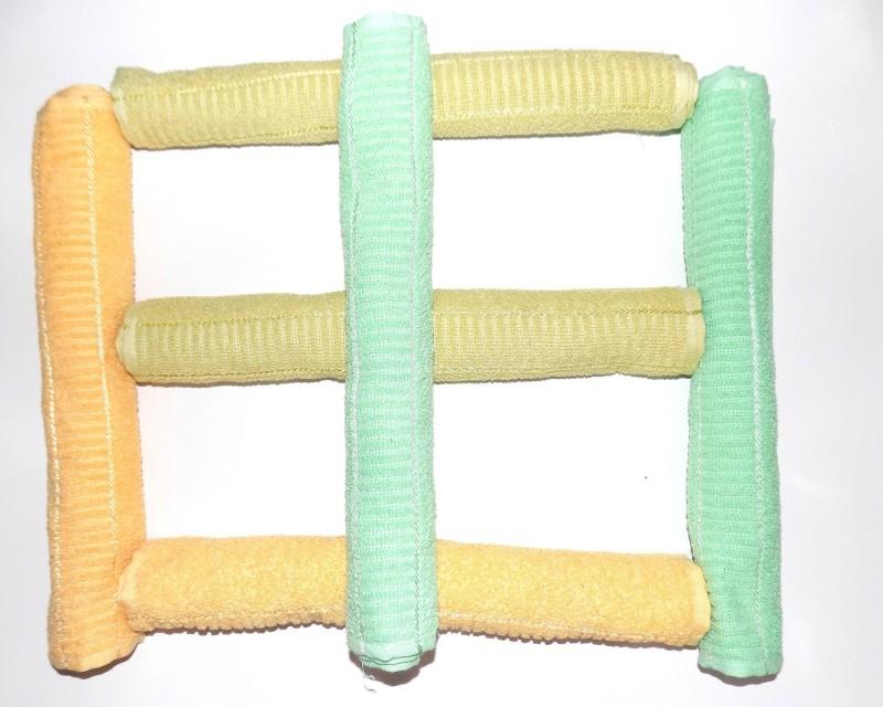 Alagh Fashions 6 Piece Cotton Bath Linen Set(Multicolor, Pack of 6)
