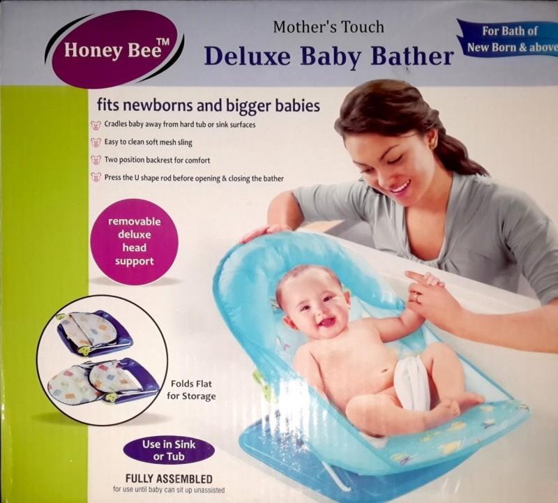 Honey bee BABY BATHER(Blue)