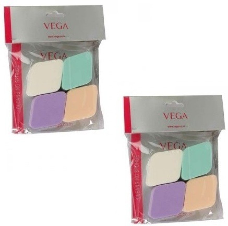 VEGA Cleansing Sponge (Small) (Pack Of 2 )