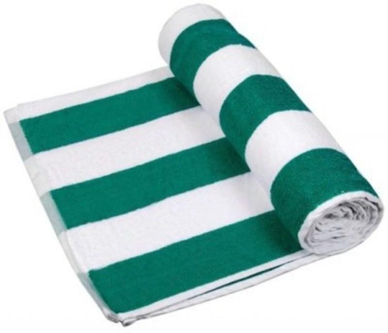 Richiworld Cotton 100 GSM Bath Towel(Green)