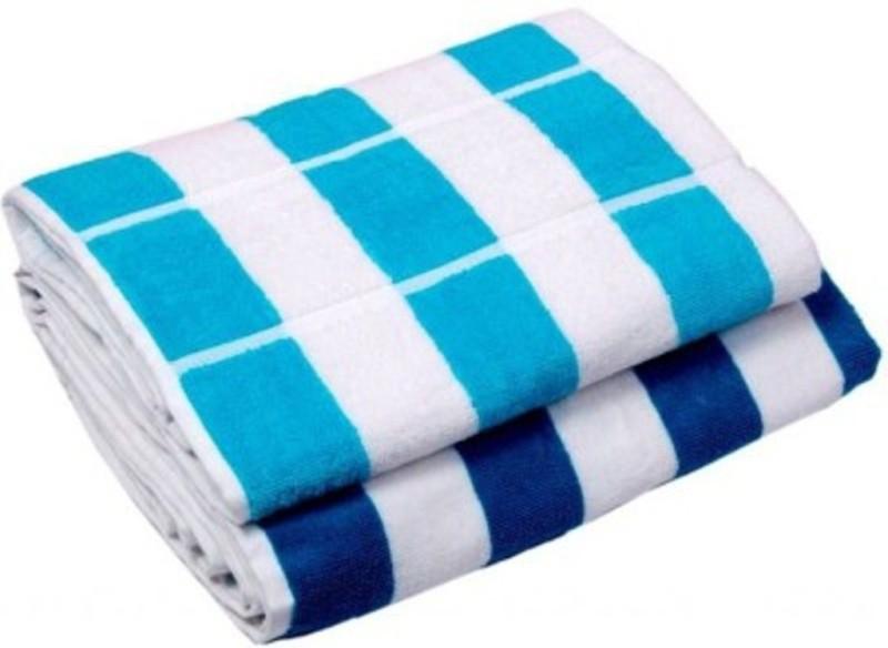 Richiworld Cotton 200 GSM Bath Towel(Pack of 2, Multicolor)