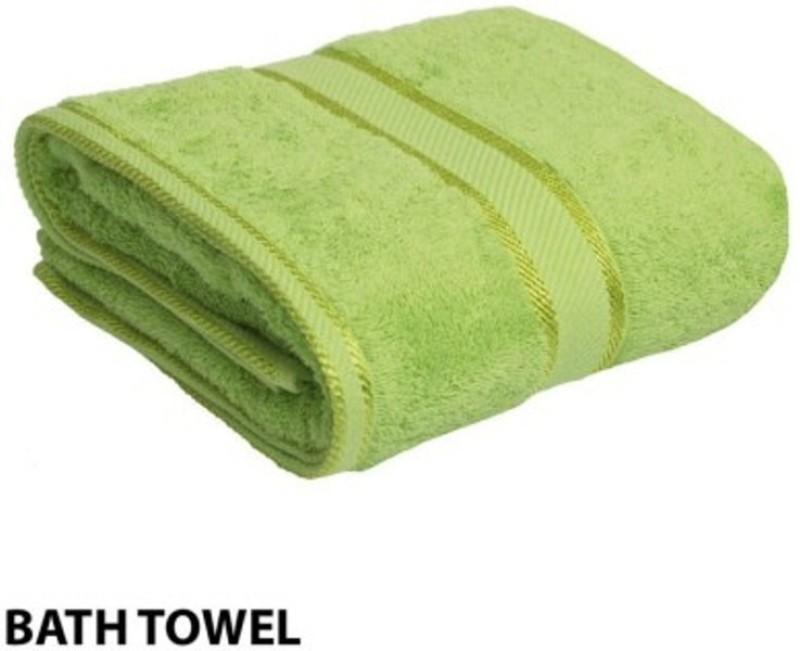 Richiworld Cotton 100 GSM Bath Towel(Light Green)