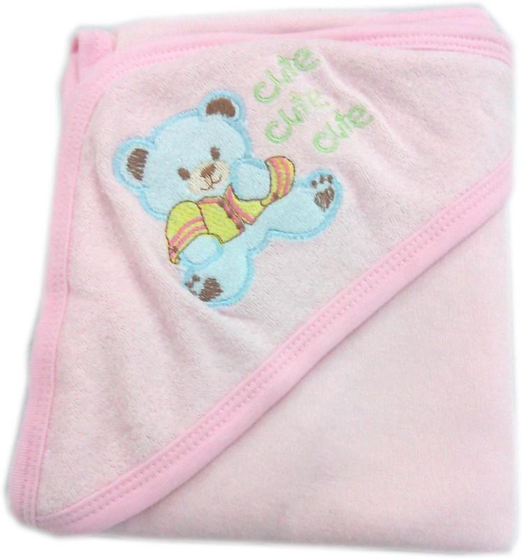 Baby's Clubb Cotton 2400 GSM Bath Towel(Pink)