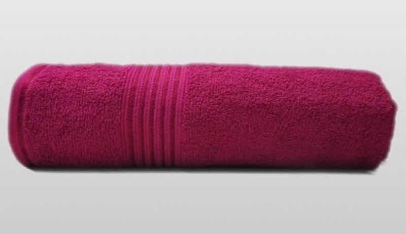 Richiworld Cotton 100 GSM Bath Towel(Red)