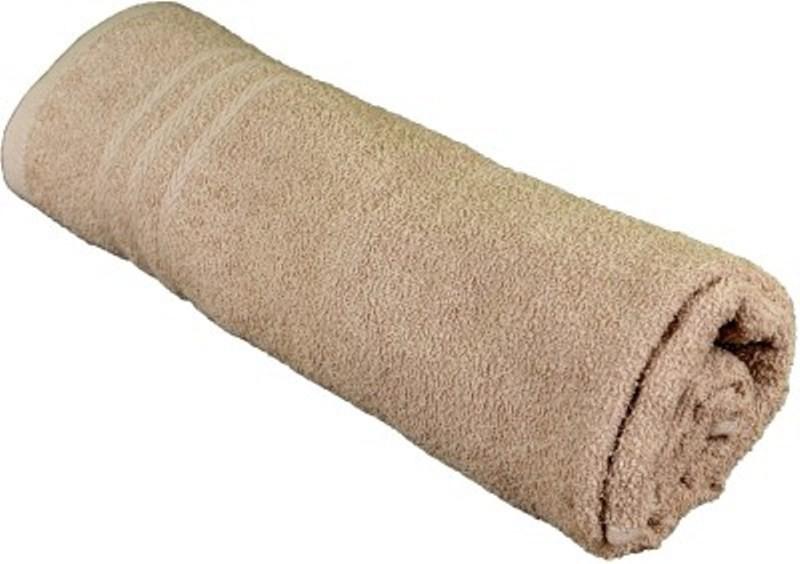 Richiworld Cotton 100 GSM Bath Towel(Beige)