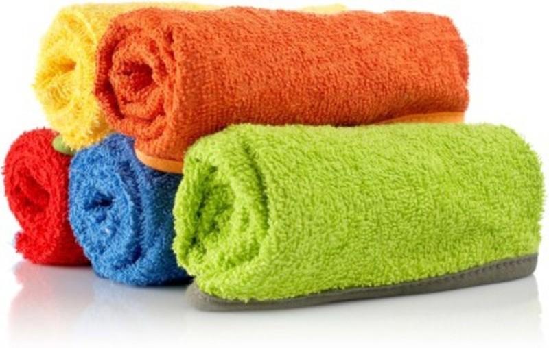 Richiworld Cotton 500 GSM Bath Towel(Pack of 5, Multicolor)