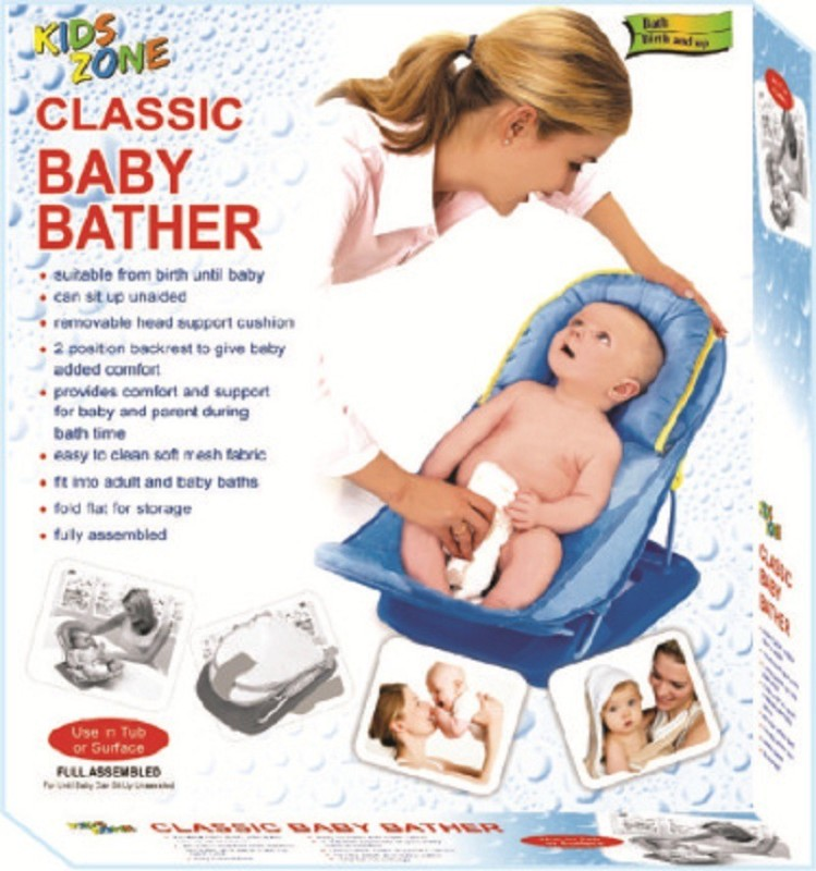 Toys & Games Classic Bather Baby Bath Seat(Blue)