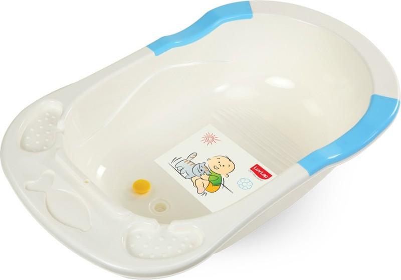 LuvLap Baby Bathtub(Blue)