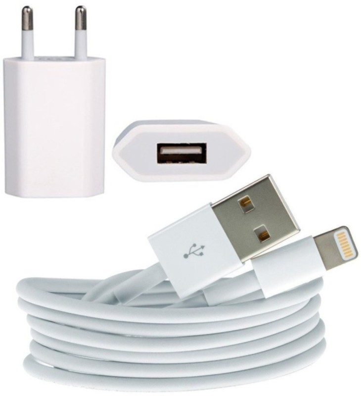 Digicloudshop 6/6s Mobile Charger(White)