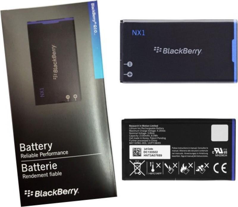 JQX  Battery - NX1 Battery For BlackBerry Q10(Black)