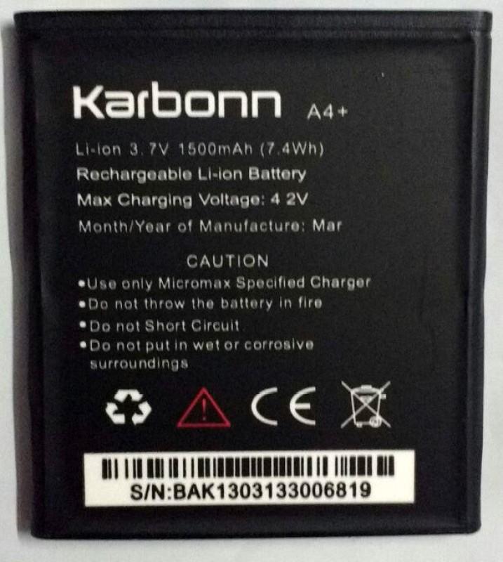 Karbonn Karbonn A4+   Battery