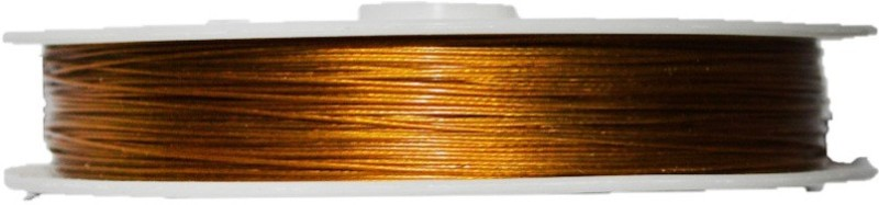 Jeevikrish Creations Gold Beading Wire(Diameter :  0.1 mm)