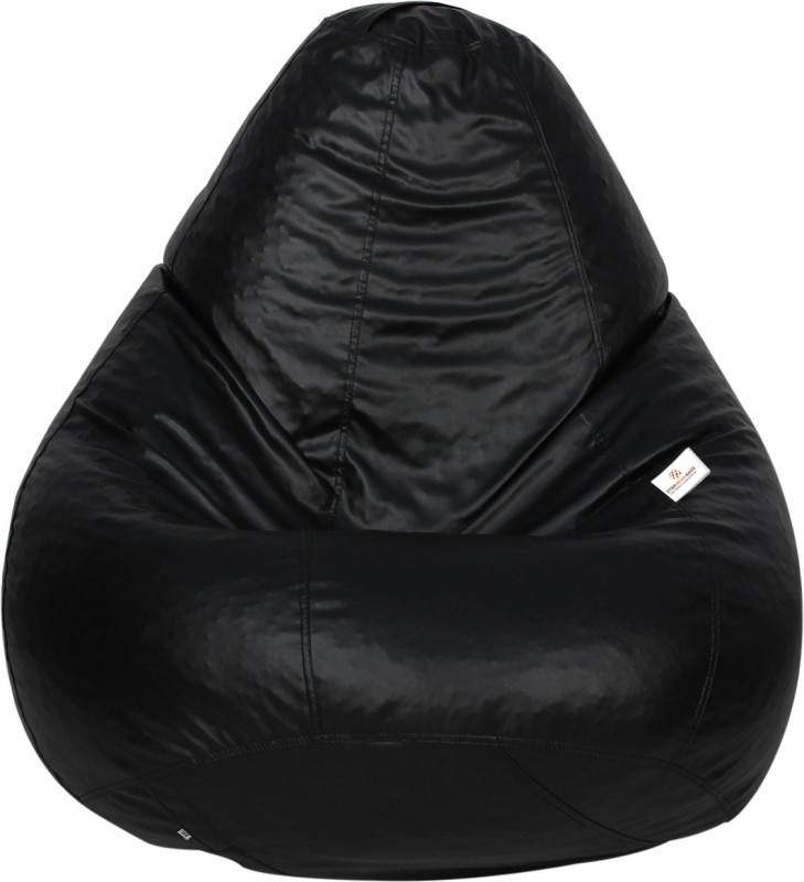 Star XXXL Bean Bag Cover(Black)