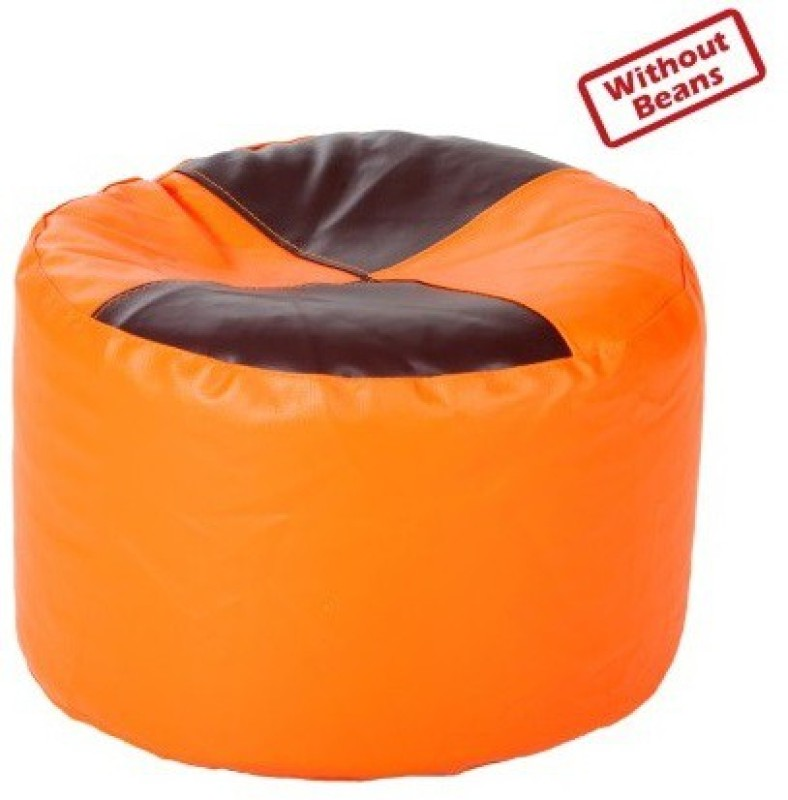 Star Medium Bean Bag Cover(Orange)