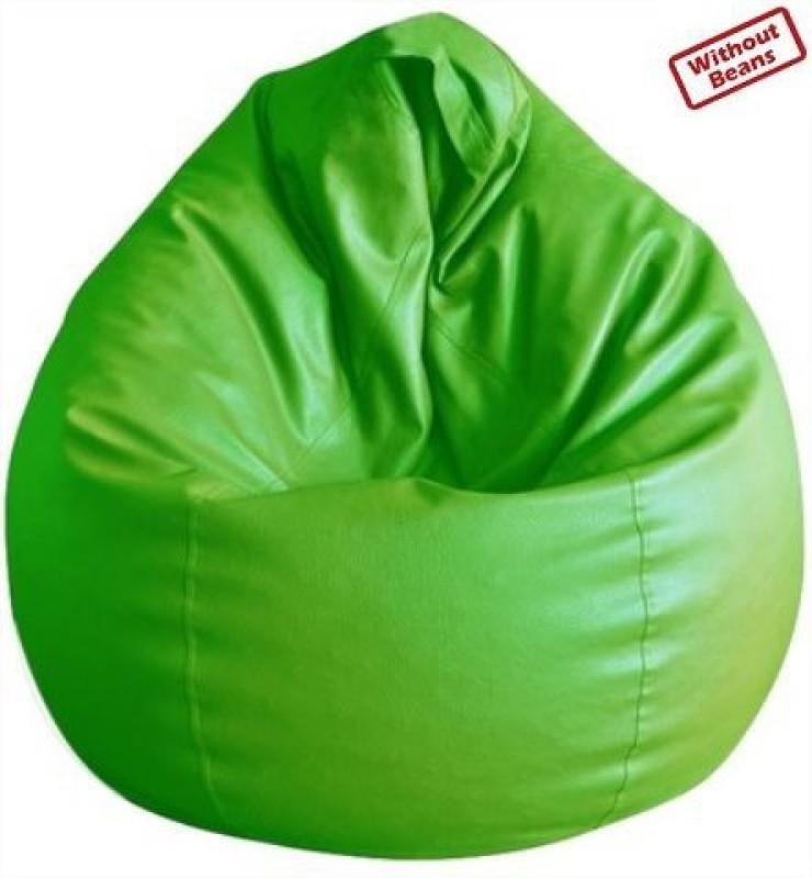 Fab Homez XXL Teardrop Bean Bag Cover (Without Beans)(Green)