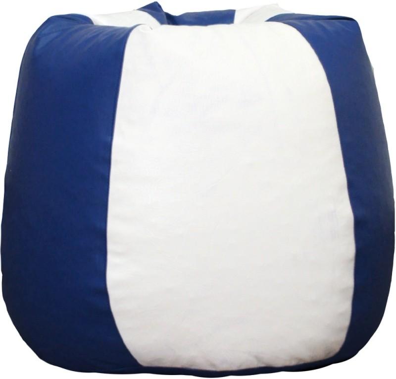 Fat Finger XXXL Bean Bag Cover (Without Beans)(Multicolor)