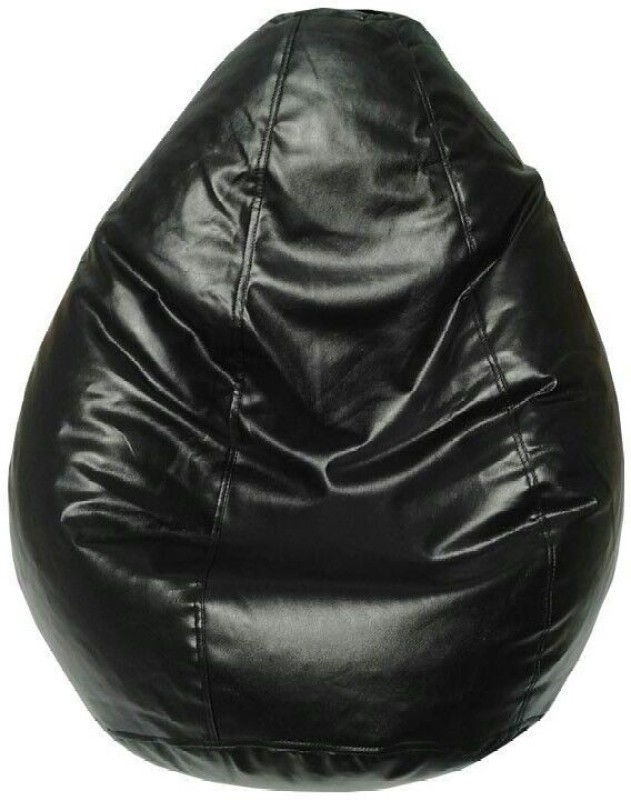 TJAR XL Bean Bag Cover (Without Beans)(Black)