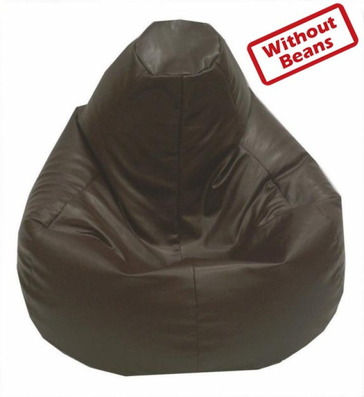 Star XXXL Teardrop Bean Bag Cover (Without Beans)(Brown)