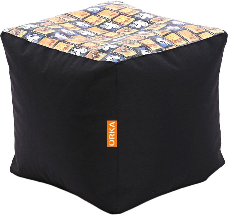 ORKA XXXL Bean Bag Cover (Without Beans)(Multicolor)
