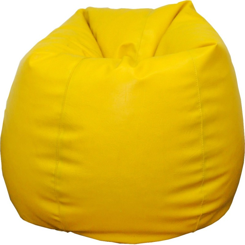 Fat Finger XXXL Bean Bag Cover (Without Beans)(Yellow)
