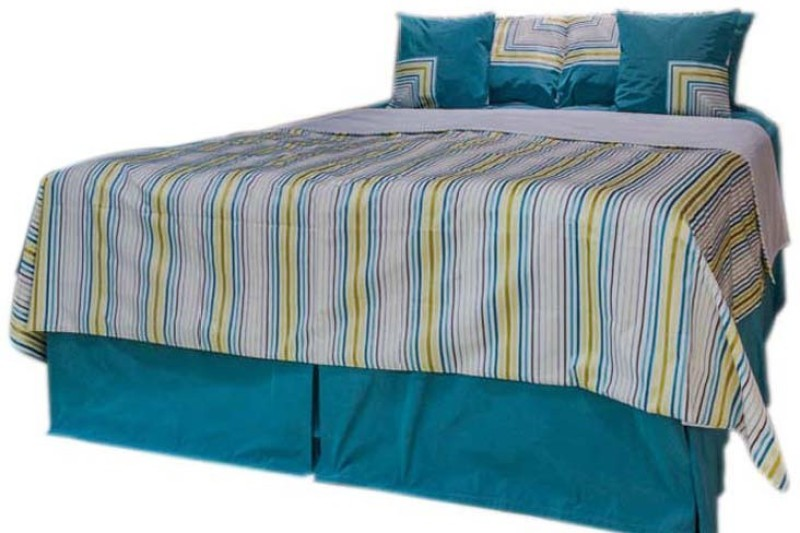 MABA Cotton Viscose Blend Double Bed Cover(Multicolor)