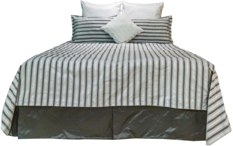 MABA Polycotton Double Bed Cover(Beige)