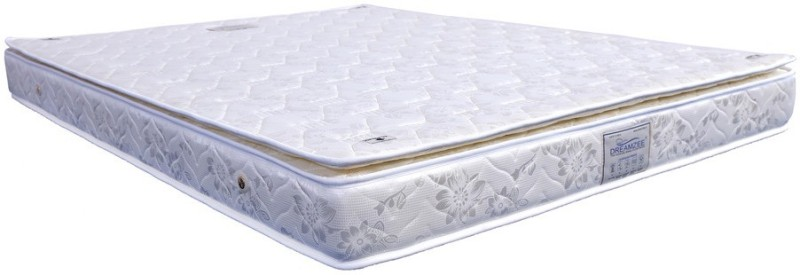 Dreamzee Pocket Spring With Pillow Top 8 inch King Pocket Spring Mattress
