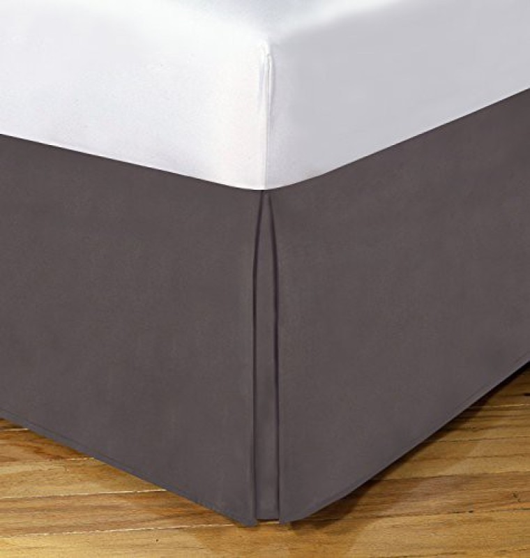 TodaysHome Size Bed Skirt(Gray)