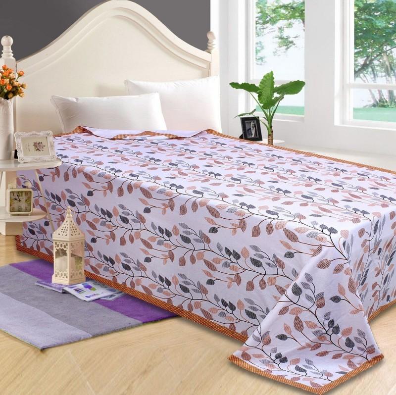 P.S Decor Platform Single Size Bed Skirt(brown Frill)