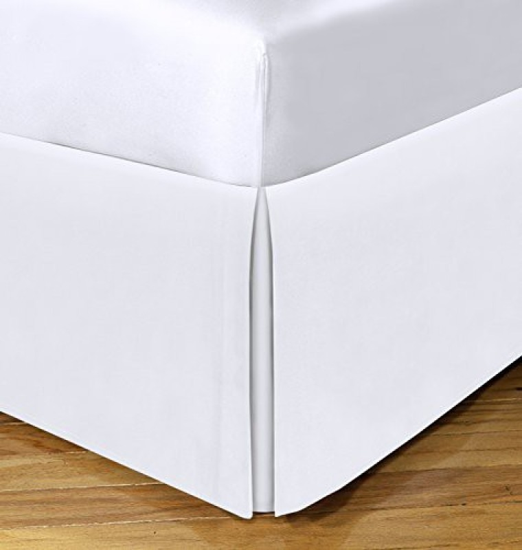 Spacemaker Size Bed Skirt(White)