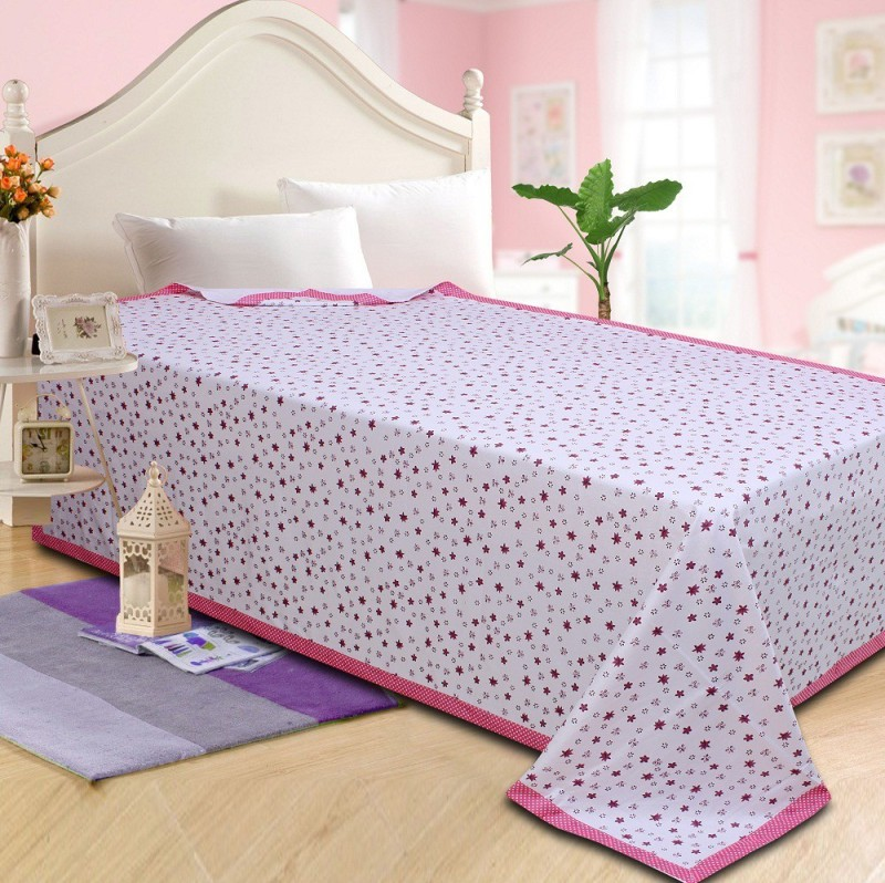 P.S Decor Platform Single Size Bed Skirt(pink Frill)