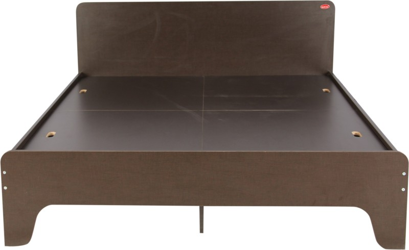 Kurlon SASSY Engineered Wood Queen Bed(Finish Color - WENGE)