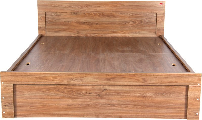 Kurlon STURDY Engineered Wood King Bed(Finish Color - WALNUT)
