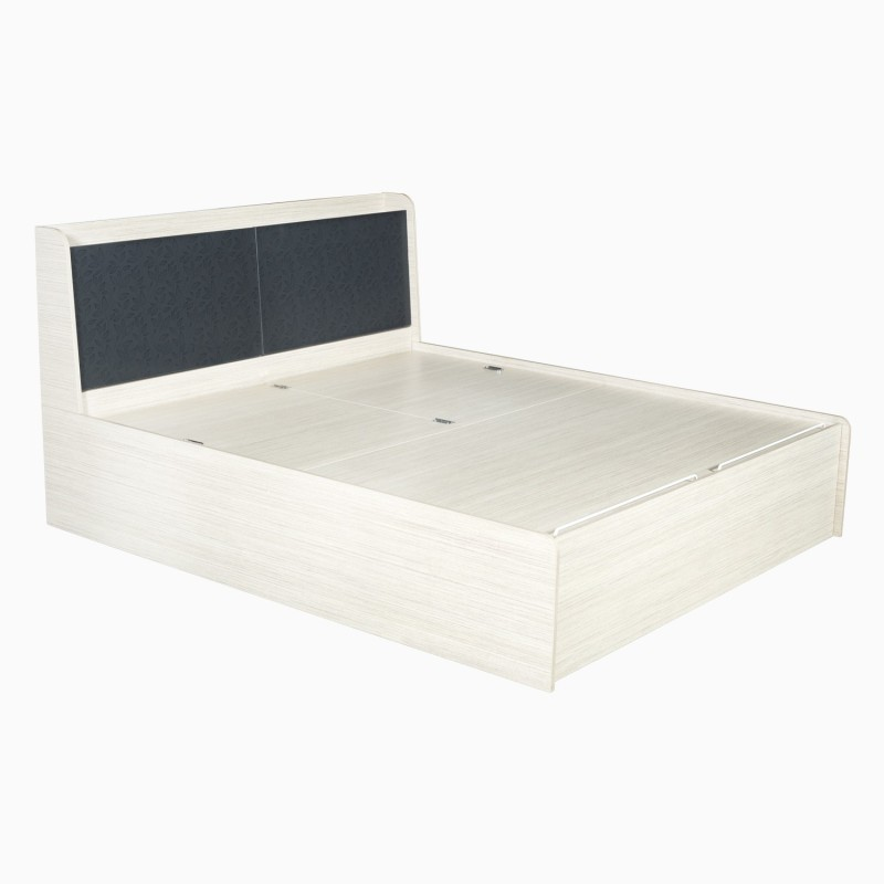Godrej Interio Florid pro Engineered Wood King Bed With Storage(Finish Color -  Linewood)