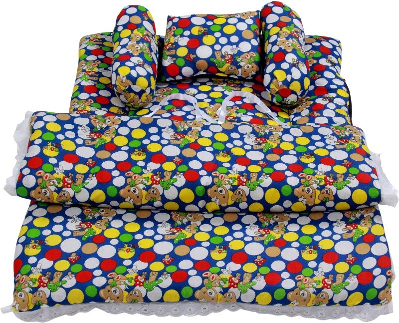 BSB Trendz Cotton Bedding Set(Mullti Color) BSB TRENDZ Baby-Five Pice Bedding Set