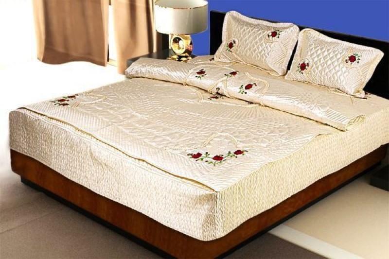 Chelsi Satin Bedding Set(Yellow)