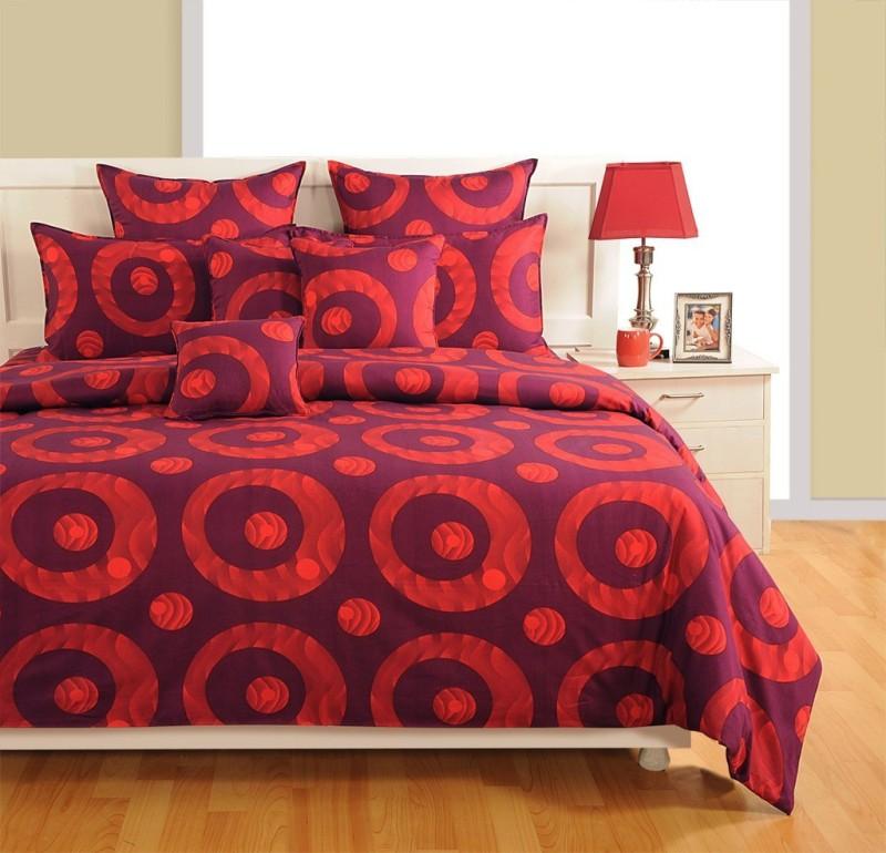 Swayam Cotton Bedding Set(Multicolor) BIB-WCS-Zinnia