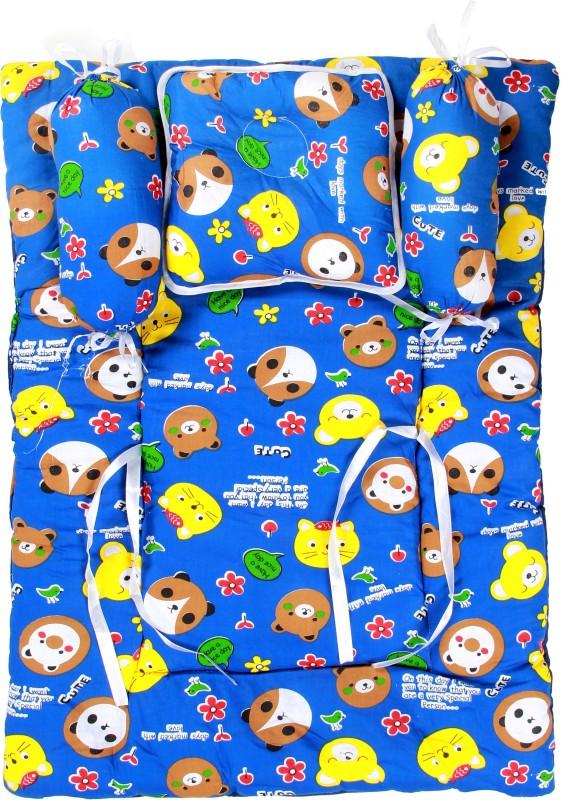 BSB Trendz Cotton Bedding Set(Mullti Color) BSB TRENDZ Baby-Four Pice Bedding Set-Small